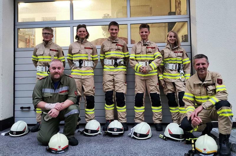 Verstärkung für unsere Feuerwehr